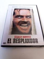 """DVD """"EL RESPLANDOR"""" PRECINTADO SEALED STANLEY KUBRICK JACK NICHOLSON SHELLEY DUV"""