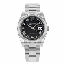 Rolex Stainless Steel Band Wristwatches with Date Indicator
