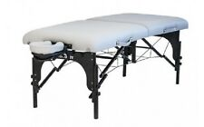 RETURNED Stronglite Premier Portable Massage Table Standard Package SILVER ONLY