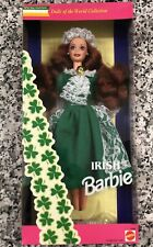 "MATTEL Dolls of the World, ""Irish Barbie"" VTG 1994 Special Edition 12998, NEW"