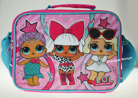LOL SURPRICE LUNCH BAG SNACK SHOULDER BAG GIRLS INSULATED BAG NWT B-DAY GIFT