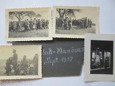 (D).Reich, FLAK Manovra 1937, 4 originale Foto (19247)