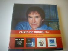 CHRIS DE BURGH: 4 Original Albums 4 CD BOXSET NEW AND SEALED 2010.