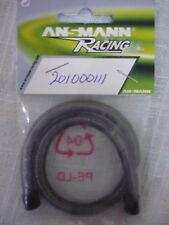 Ansmann Racing Metal Fuel Tube Protector - Black (30cm) 201000111