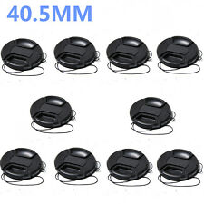 10pcs 40.5mm Front Lens Cap Hood Cover Snap-on For Canon Nikon Pentax Sony 10x