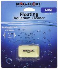 New listing Mag-Float 25 Mini Glass Acrylic Plastic Aquarium Magnetic Algae Cleaner Magfloat