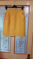 Ladies Yellow Skirt size 10 Moda George