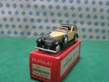 Vintage Rami   -  HISPANO SUIZA coupè type J-12   - 1/43  France