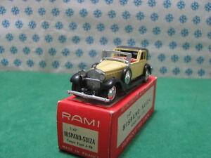 Vintage Rami - Hispano Suiza Coupé Modèl J-12 - 1/43 France