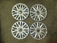"Set Of 4 2010 2011 2012 2013 Passat Jetta Golf 15"" Hubcaps Wheel Covers 61560"