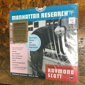 RAYMOND SCOTT Manhattan Research Inc 3LP sealed Clear VINYL #000541 Record NEW