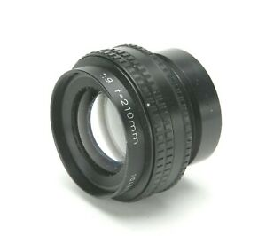 """Rodenstock APO-Gerogon 9/210mm Enlarging Lens With M49 Screw Mount Up To 5x7""""."""