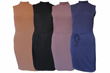 Polyester Mini Casual Sleeveless Dresses for Women