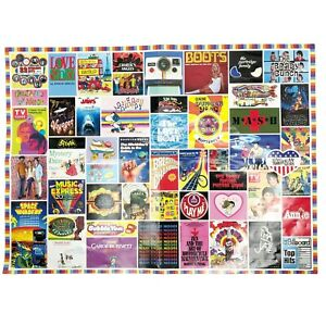 Remarks 1970s Pop Culture 1500 Piece Puzzle With Mini Poster Size 24x33 inch