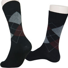 a03d73f1d3a 5 Pairs Mens Argyle Casual Dress Socks