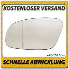 Spiegelglas für VW NEW BEETLE 2003-2010 links Fahrerseite asphärisch