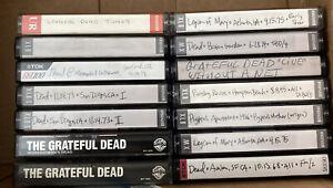 Grateful Dead Cassette Tapes Lot Live Lot Of 15 Legion Of Mary, Ratdog, Studio