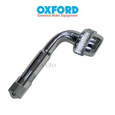 Oxford Tyre Valve Extension Adaptor 90 Degree Angle For Motorcycle Motorbike