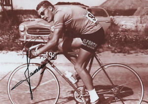 JAN JANSSEN - Tour de France winner 1968, signed photo