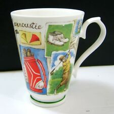 Golf Tea Cup By Roy Kirkham Fine Bone China Made in England 1997