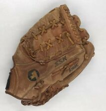 "Ssk Dimple Ii Brown Leather Rht Baseball Glove 12.5"" Mitt Dpg-720 Soft #F"