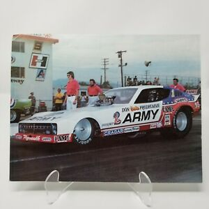Army Funny Car Racing Don Prudhomme The Snake 1978 Government Photo Print J6