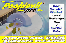 PoolDevil Sock Pool Devil Bag Automatic Surface Skimmer Super HD Filter Replace