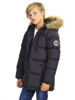 NEW BOYS PARKA JACKET COAT HOODED Boy Padded CLOTHING AGE 7 to 13 Waterproof