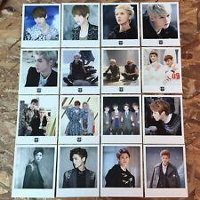 EXO Luhan Official Full SET Polaroids - MAMA/XOXO/ MID/Overdose