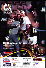 2006/07 NORTHAMPTON TOWN V CHESTERFIELD 21-03-2007 League 1