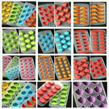 New Silicone Ice Cube Jelly Chocolate Fruit Cake DIY Mould Mold Tray Pudding KY
