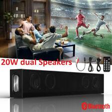 2.1 CH TV Sound Bar 20W Wireless Bluetooth Soundbar Speakers Remote Home Theater
