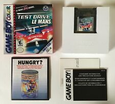 Test Drive Le Mans Nintendo Game boy Gameboy Color CIB Complete