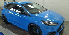 FORD FOCUS RS MK3 GLOSS BLACK WING MIRROR COVER SET