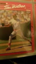 Tim Birtsas Cincinnati Reds Donruss 1990 Leaf Cards Ungraded
