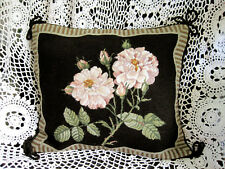 Gorgeous Needlepoint Woolen Decorative Cushion Cover C