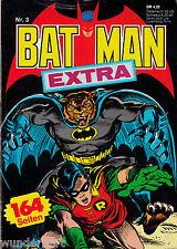 *- BATMAN extra Heft Nr. 3 -   tb  (1981)