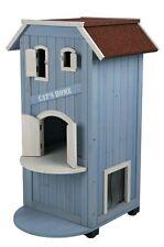 Cat's Home Casetta Cuccia da esterno in legno TRIXIE per gatti o Gatto