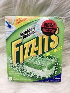 Scrubbing Bubbles Fizz Its 10 Toilet Tablets Fresh Citrus Rare Bs24