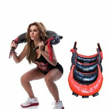 Boxing Punching Sandbag Pu Leather For Home Gym Fitness Workout Training Sport
