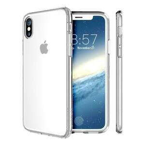 Case For iPhone X Shock Proof Crystal Clear Soft Silicone Gel Cover