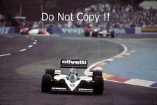 Derek Warwick Brabham BT55 French Grand Prix 1986 Photograph