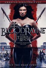 NEW HORROR DVD  // BLOODRAYNE THE THIRD REICH  //   UNRATED DIRECTORS CUT