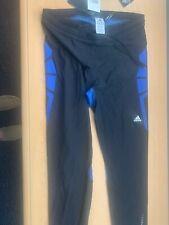 Adidas Tights Leggings 2XL Climacool Black Blue