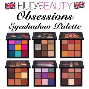UK *BNIB* HB Obsessions Coral Gemstone Mauve Electric Smokey Eyeshadow Palettes