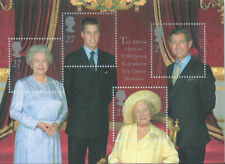 Gb Queen Mothers 100th Birthday Mini Sheet Ms2161