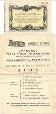 7 Tickets Venise et Florence et autres. Voir photos.
