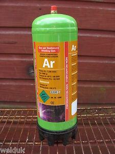 Argon Disposable Gas Bottle 2.2 Ltr Cylinder @ 100 bar E88 11309
