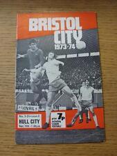 18/09/1973 Bristol City v Hull City  (Light Crease)
