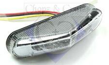 Rücklicht & Bremslicht - Motorrad - LED - Cobra - transparent